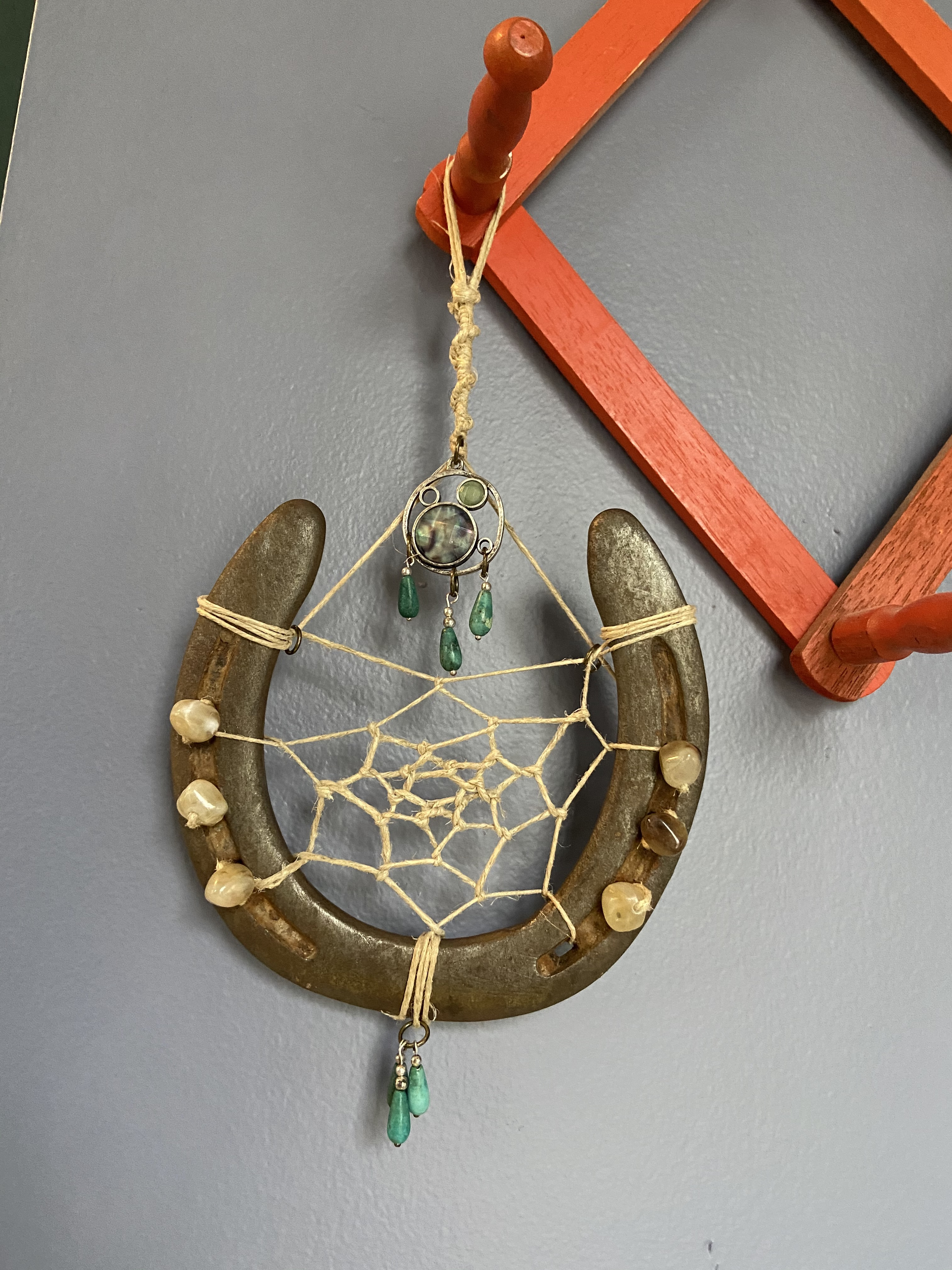 Horse Shoe Dreamcatcher