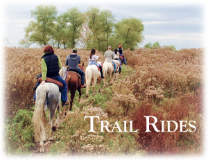 Trail Rides for all ages and levels